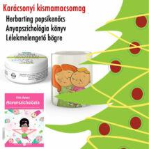Anyapszichológia könyv + Herbarting gyógynövényes popsikenőcs + Lélekmelengető bögre